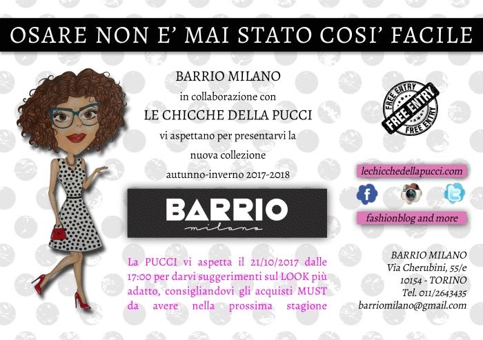 EVENTO: Le Chicche della Pucci & BarrioMilano