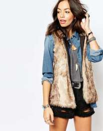 only-gilet-di-ecopelliccia